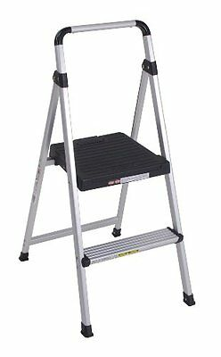 Cosco 11-628abk4 Lite Solutions Aluminum Frame Step Ladder 2-step Gray