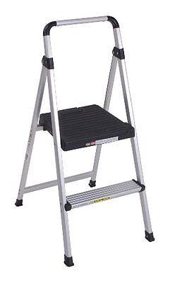 Cosco 11-628abk4 Lite Solutions Aluminum Frame Step Ladder 2-step Gray