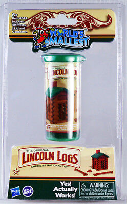 World's Smallest: Lincoln Logs [New Toy] Toy