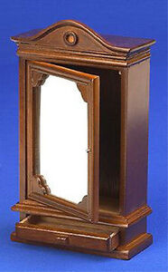 Dolls-House-12th-Scale-Wardrobe-With-Mirror-NB510