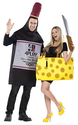 Wine and Cheese Couples Costume (Couples Costums)