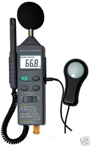 Environmental Temperature Humidity Light Sound meter