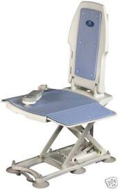 Minivator Bath Bliss Recliner - Bath Chair Lift. Portable and foldable.