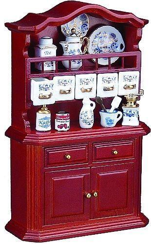 Dollhouse Victorian Kitchen Ebay