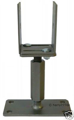 Pfostenträger Höhen/Seitenverstellbar Spezialverzinkung