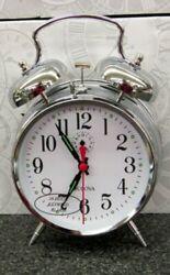 BULOVA - MECHANICAL ALARM CLOCK BELLMAN II   B8127