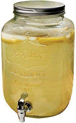 Circleware Mini Yorkshire Mason Jar Glass Beverage Drink Dis