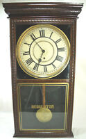 Antique Sessions Regulator E Wall Clock