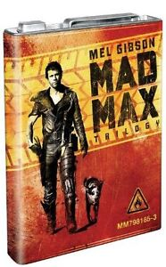 Mad Max 1+2+3 Trilogie [Blu Ray] Limited Benzinkanister Box Set UNCUT Deutsch