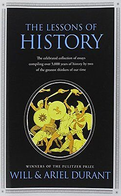 The Lessons of History by Will Durant, (Paperback), Simon andamp; Schuster , New on Rummage