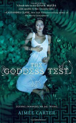 Complete Set Series - Lot of 3 Goddess Test books by Aimee Carter Teen Fantasy