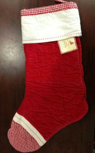 Pottery barn stocking ebay