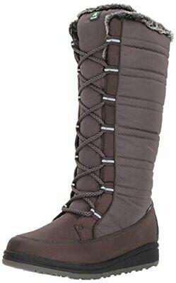 Kamik Women's Starling Snow Boot, Charcoal, 6 D US