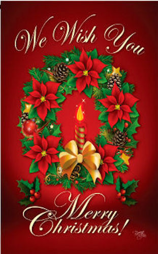 Breeze Decor - We Wish You Merry Christmas Double Sided