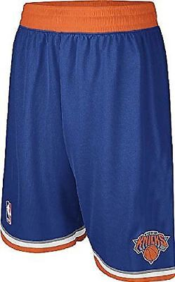 adidas New York Knicks Youth Swingman Embroidered NBA Replica Basketball Shorts