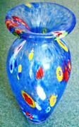 Vintage Blown Glass Vase