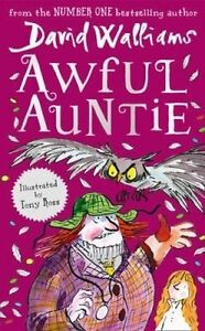 Awful Auntie by David Walliams...Paperback...AS NEW.. mf44