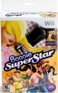 Boogie Superstar Gameplay Wii with microphone