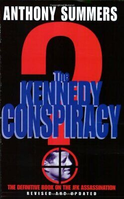 The Kennedy Conspiracy by Summers, Anthony Paperback Book The Cheap Fast Free