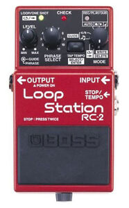 Boss RC-2 Loops Station
