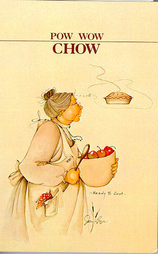 POW WOW CHOW, CHEROKEE, OTHER TRIBES, NATIVE COOKBOOK, GREAT GIFT