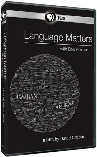 Language Matters With Bob Hollman (2015, DVD NEW)
