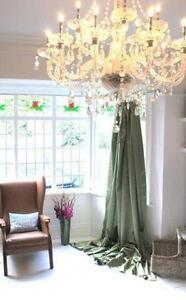 Green Curtains Ebay
