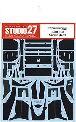 Studio27 CD20049 Tyrrell 020 Carbon Decal for Tamiya 1/20 Scale
