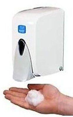 Schaumseifenspender, Kunststoff, weiß, nachfüllbar, 500 ml