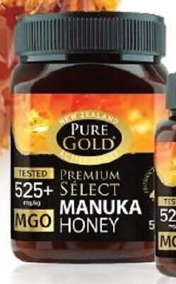 Pure Gold New Zealand Active Manuka Honey 525 + 500g BBE 05/2023