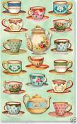 Tea Cup Stickers