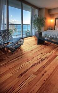 SALE! Prefinished Tigerwood  flooring blow out sale!