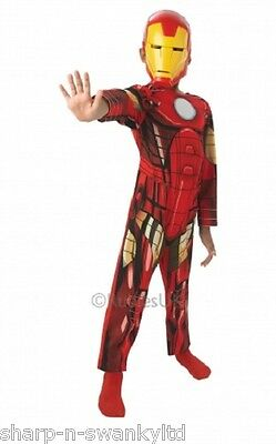 Jungen Klassiker Iron Man Marvel Superheld Buch Tag Woche Verkleidung Kleid (Iron Man Verkleiden)