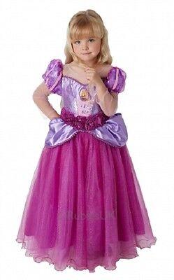 Mädchen Deluxe Disney Prinzessin Pink Rapunzel Buch Tag - Deluxe Rapunzel Kostüme
