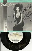 Whitney Houston Signed