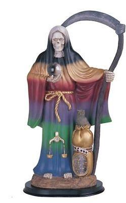 "16"" Inch 7 Color La Santa Muerte Statue Holy Death Grim Reaper Santisima"