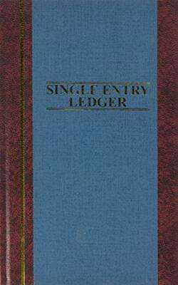 Wilson Jones S300 Line Accounting Journal Single Entry Ledger 11.75 X 7.25