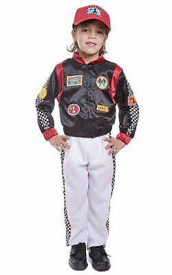 Dress Up America Kids Race Car Driver Costume - Kids Car Costume