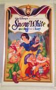 Disney Snow White VHS