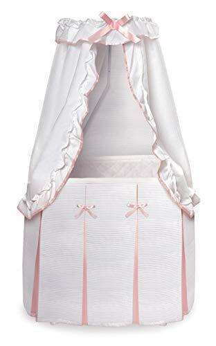 Majesty Bassinet - White/Pink