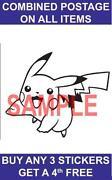 Pokemon Wall Stickers