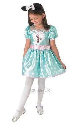 Disney Mint Cupcake Minnie Costume Fancy Dress Outfit Age 7-8 yrs **HALF PRICE**