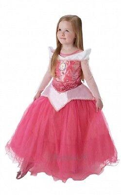 Mädchen Deluxe Disney Prinzessin Aurora Dornröschen Kostüm Kleid Outfit