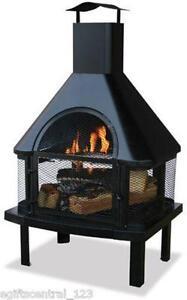 Wood Burning Fireplace | eBay