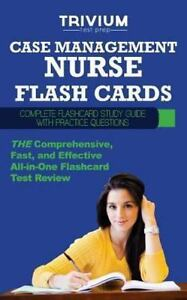 Case Management Nurse Flash Cards: Complete Flash Card Study
