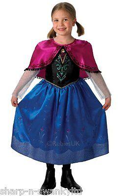Mädchen Disney die Eiskönigin Deluxe Anna Prinzessin (Deluxe Eis Prinzessin Kostüm)