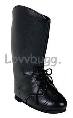 """Lovvbugg Classic Horse Riding Boots for 18"""" American Girl or Boy Doll Shoes"""
