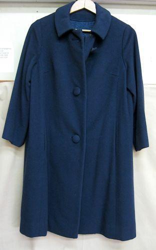 Vintage Womens Cashmere Coat Ebay