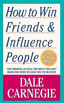 'How to Win Friends and Influence People by Dale Carnegie (1990) FREE SHIPPING