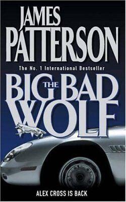 JAMES PATTERSON ___ THE BIG BAD WOLF   __ BRAND NEW  ___ FREEPOST UK